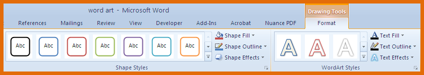 Office 2010 WordArt – WordArt Spices up Your Documents