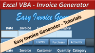 Hvac Invoice Forms Pdf Excel Vba Invoice Generator  Easy Invoice Generator  Online Pc  Apps For Invoices Excel with Amazon Gift Receipts Excel Excel Vba Invoice Generator  Easy Invoice Generator Car Rental Receipt Word