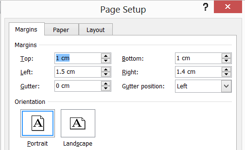 how to make pamphlets on word 2010