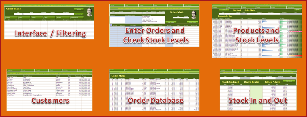 Excel Vba Order And Inventory Management Excel 2013 Online Pc Learning