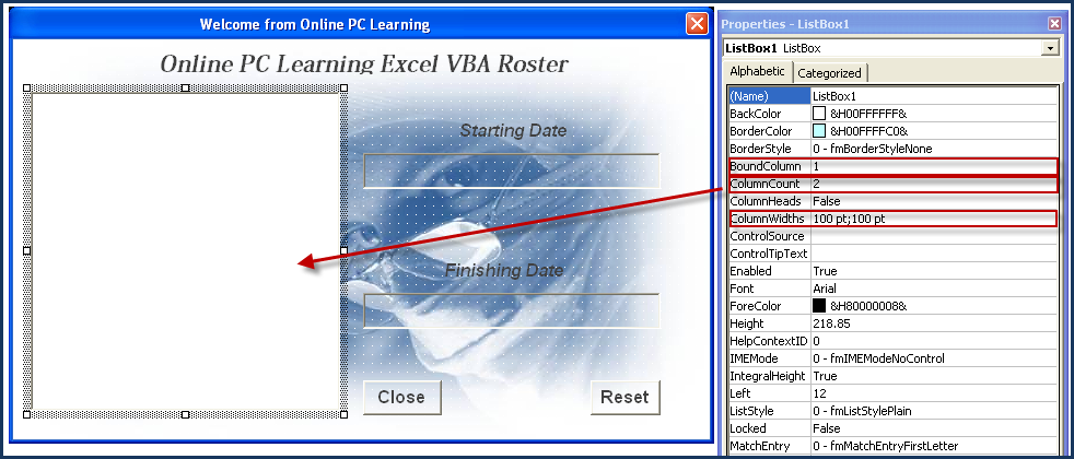 Excel Roster - Hours and Overtime Roster System - Excel VBA