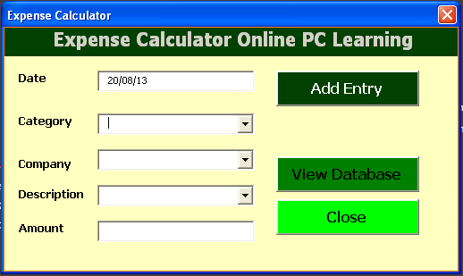 finance calculator my finance manager online pc learning