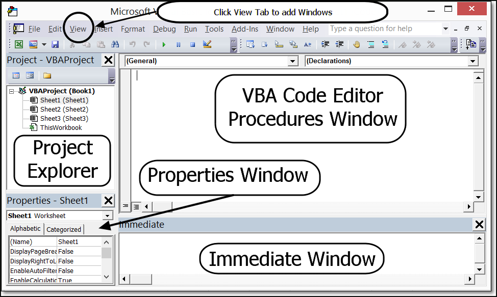 Vba for beginners understanding the visual basic editor for Best r value windows