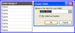 dynamic named ranges insert table