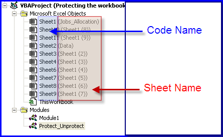 Sheet name code keninamas protect all worksheets with vba in excel online pc learning ibookread Read Online