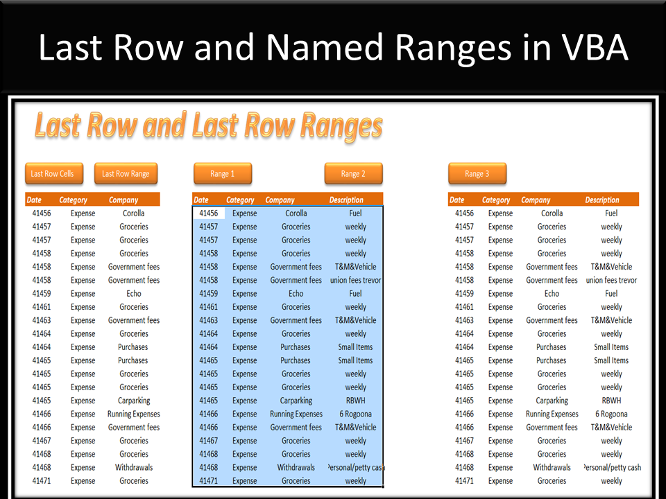 range last row vba