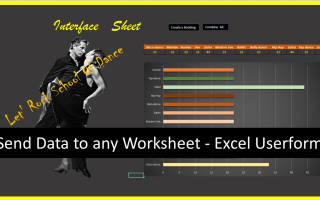 Userform to any worksheet