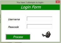 Excel Userform Login