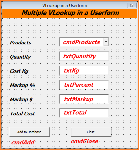 Excel VBA Calculations in a Userform - Online PC Learning