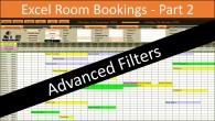 Room Bookings Advanced Filters