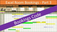 Excel Room Bookings code