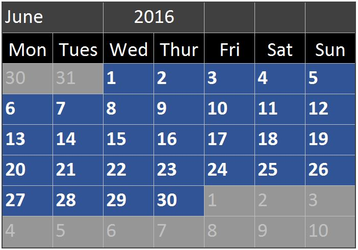 excel calendar spreadsheet online pc learning